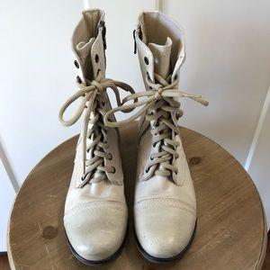 Steve Madden Troopa Combat Boots Women's Size 8